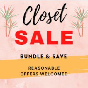 ✂✂SALE ON ALL ITEMS!